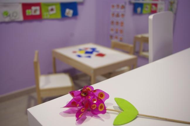 Zona infantil Logopedia y Fisioterapia Míriam TC